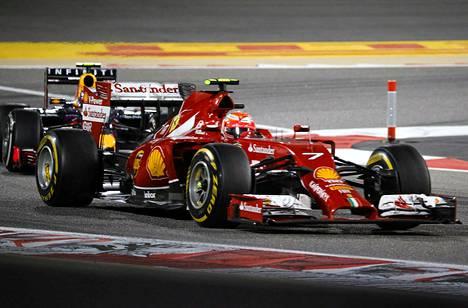 Ferrarin ja Kimi Räikkösen kausi on alkanut vaatimattomasti.