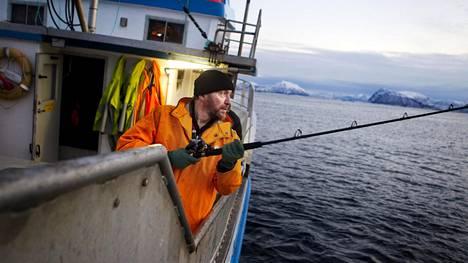 Kalastaja Lauri Pietikäinen on asunut pitkään Norjassa.