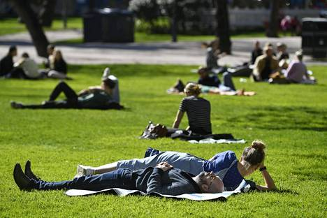 Viikonloppu vietetään Uudellamaalla lämpimässä ja aurinkoisessa säässä. Kuva toukokuulta 2020.