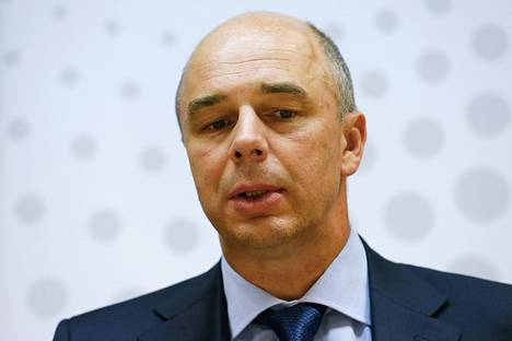 Venäjän valtiovarainministeri Anton Siluanov