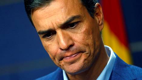 Sosialistipuolue PSOE:n johtaja Pedro Sánchez.