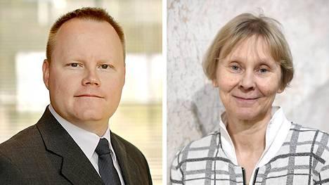 Mikael Collan ja Anni Huhtala.