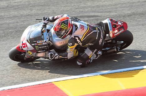 Mika Kallio pettyi seitsemänteen sijaansa Espanjassa. Seuraava osakilpailu on Japanissa kahden viikon kuluttua.