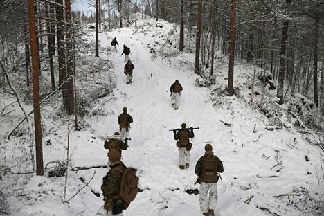 Yhdysvaltojen merivoimat osallistui puolustusharjoitukseen Norjassa vuonna 2019.