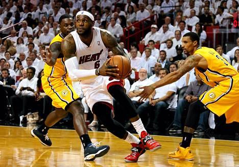 LeBron James haluaa voittaa Miami Heatissa kolmannen mestaruuden peräkkäin.