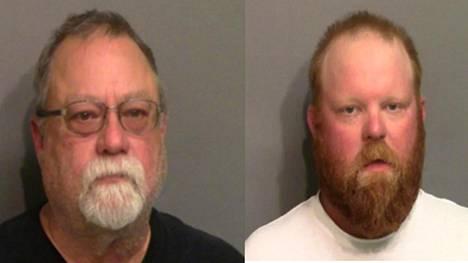 Eläköitynyt poliisi Gregory McMichael ja hänen poikansa Travis McMichael on pidätetty epäiltyinä törkeästä päällekarkauksesta ja Ahmoud Arberyn murhasta.