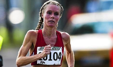 Leena Puotiniemi palautui Helsinki City Maratonin rasituksista pikavauhtia.