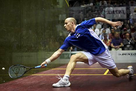 Olli Tuominen on squashin maailmanlistalla sijalla 20.