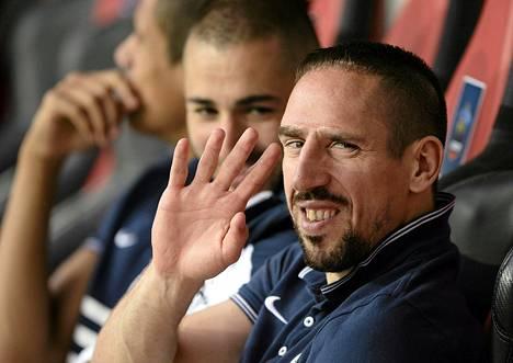 Franck Ribery ei aio pelata enää Ranskan maajoukkueessa.