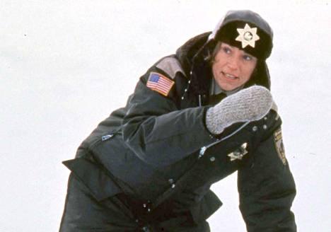 Frances McDormand oli mainio Fargossa.