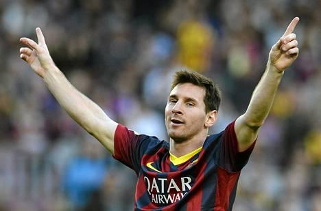 Lionel Messin peli alkaa kulkea loukkaantumisten jälkeen.