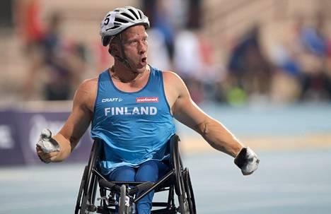 Leo-Pekka Tähti tuuletti jo neljännen kerran MM-kultaa.