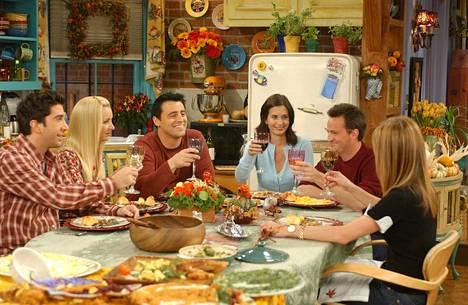 Frendit-tv-sarja on yksi tv-historian suosituimmista sitcomeista. Sitä tehtiin vuodet 1994–2004.