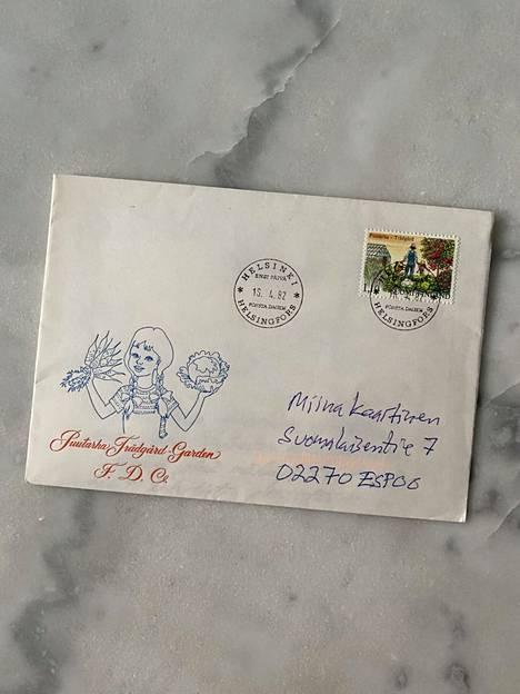Miina Kaartinen sai kummallisen kirjeen vuosikymmenten takaa. Kuka on kirjeen kirjoittaja ja oikea vastaanottaja?