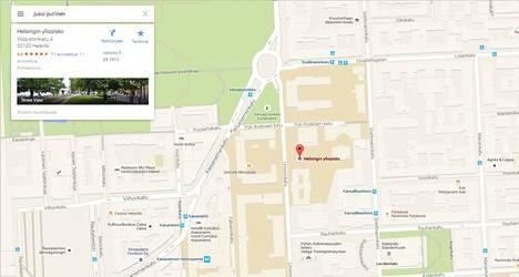 Google Mapsin Mysteeri Haku Omalla Nimella Sijoittaa Outoon