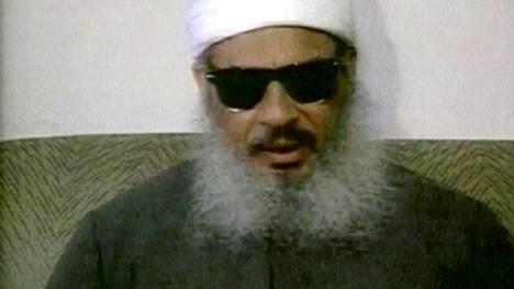 Egyptiläinen terroristijohtaja Umar Abdulrahman tuli tunnetuksi New Yorkin World Trade Centerin vuoden 1993 pommi-iskun suunnittelijana.