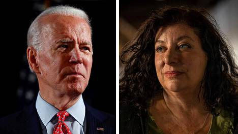 Joe Biden ja Tara Reade.
