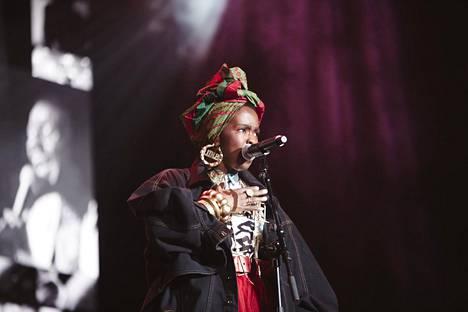 Lauryn Hill ehti soittaa hädin tuskin puolet klassikkoalbuminsa kappaleista.