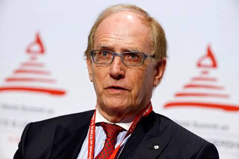 Maailman antidopingtoimisto Wadan riippumattoman tutkimusryhmän jäsen Richard McLaren Sveitsin Zürichissä syyskuussa 2016.