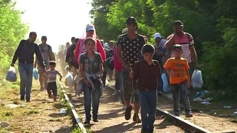 Syyrian sota nostatti historiallisen pakolaiskriisin