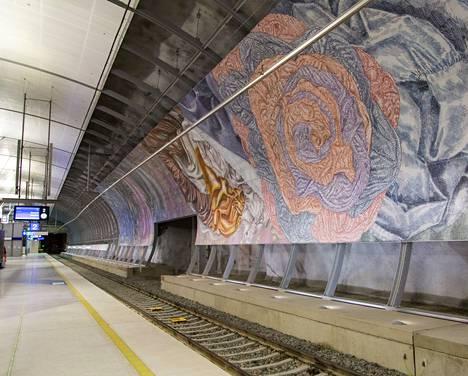 Junalla Helsinki-Vantaan Lentoasemalle