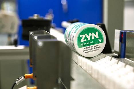 Nuuskavalmistaja Swedish Match valmistaa myös nikotiinipusseja.