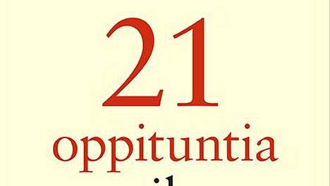 21 oppituntia maailman tilasta on HS Kirjaston viikon kirja.
