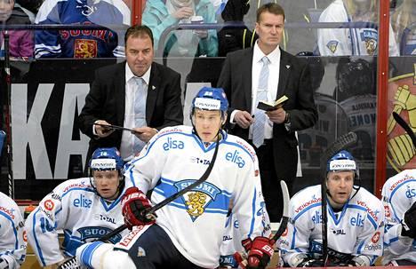 Suomen valmentaja Erkka Westerlund oli tyytyväinen Suomen ylivoimapeliin Venäjää vastaan.