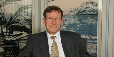 Valtiotieteiden tohtori Peter Nyberg