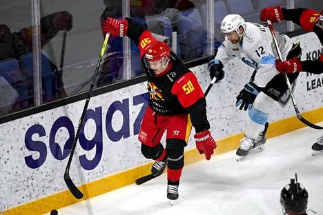 Viktor Löövin komea soolomaali toi Jokereille 2–2-tasoituksen Dinamo Minskiä vastaan.