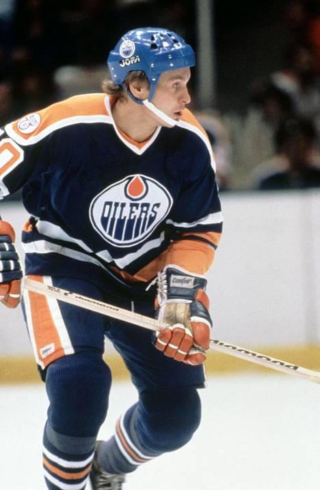 Edmonton Oilerisn paidassa 1981.