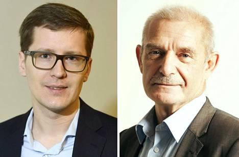 Ilkka Kaukoranta (vas.) ja Ralf Sund