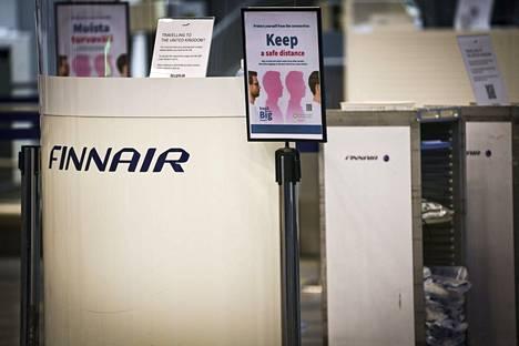 Finnairin irtisanottuja tuetaan 1,8 miljoonalla eurolla.