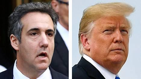 Michael Cohen ja Donald Trump