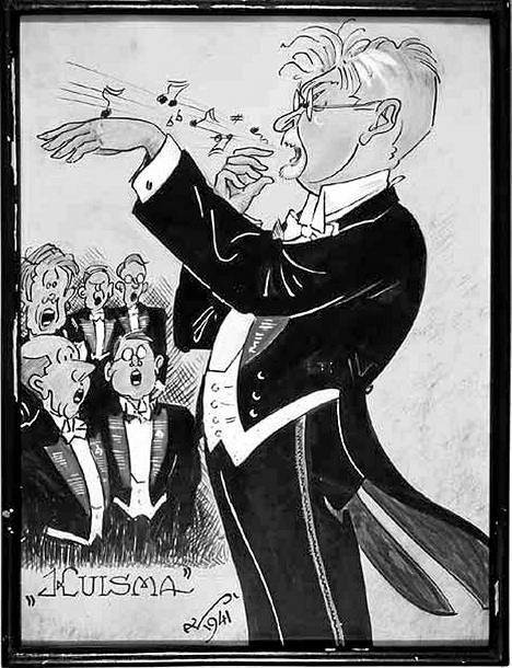 Tulisieluinen ja särmikäs raittiusmies Heikki Klemetti johti Laulu-Miehiä vuosina 1915–17 ja 1918–20.