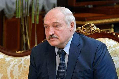 President Alexander Lukashenko and Russian Prime Minister Mikhail Mishust met in Minsk on 16 April