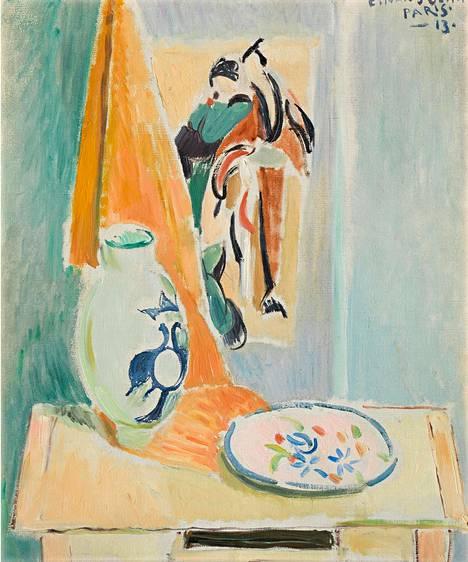 Einar Jolinin interiööri on maalattu vuonna 1913.