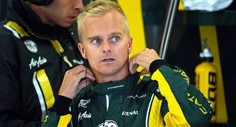 Heikki Kovalainen on tällä kaudella ajanut testejä Caterhamin Formula 1 -tallin autolla.