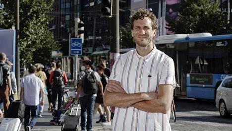 Lari Malmberg on Helsingin Sanomien kaupunkitoimituksen uusi esimies.