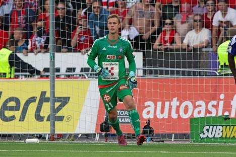 Thomas Dähne ei ollut parhaassa vedossaan Malmötä vastaan. Kuva elokuulta 2018.