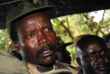 Joseph Kony vuonna 2006.