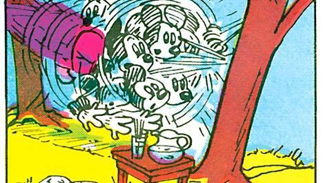 Mikiltä riippumatossa loikoilu ei suju yhtä ammattimaisesti kuin Akulta.