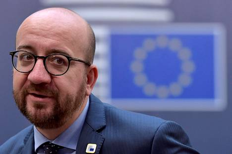 Belgian pääministeri Charles Michel.