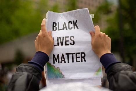 Black Lives Matter -liike on peräisin Yhdysvalloista.