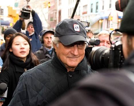 Bernard Madoff kuvattiin New Yorkissa joulukuussa 2008.