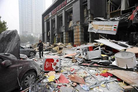 Useita kuoli ravintolan räjähdyksessä Xianissa maanantaina.