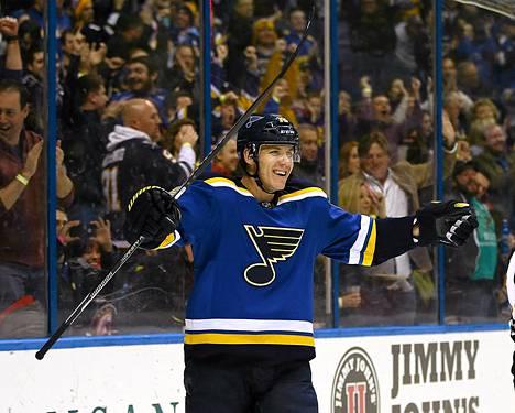 Jori Lehterä on huippuvireessä NHL:ssä.