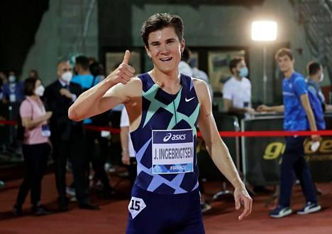 Jakob Ingebrigtsen näytti, kuka on Euroopan ykkösjuoksija 5000 metrillä.