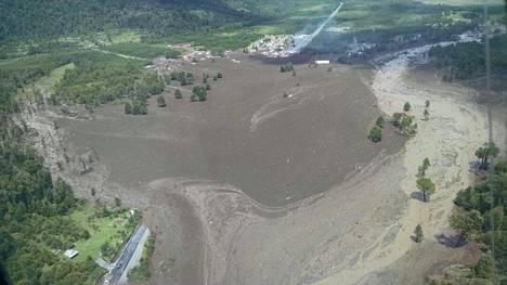 Maanvyöry hautasi alleen Santa Lucian kylän.