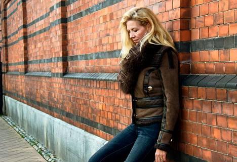 Ruotsalainen dekkarikirjailija Liza Marklund.